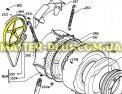 Шкив на барабан Electrolux Zanussi AEG 1246398000 для стиральной машиныФото №{num}