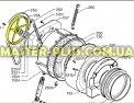 Шкив Electrolux Zanussi AEG 1260393002 для стиральной машины Фото №1