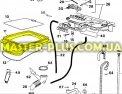 Резина (манжет) люка Zanussi 1296916065 для стиральной машины Фото №6