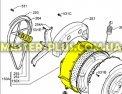 Задняя часть бака Zanussi 1320639626 для стиральной машины Фото №1