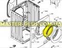 Стекло дверки (люка) Electrolux 1326566005 для стиральных машин Фото №5