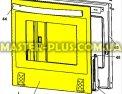 Стекло дверки (наружнее) Zanussi 3428308039 для плиты Фото №5