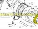 Резина (манжет) люка  Electrolux  1240167542 для стиральной машины Фото №1