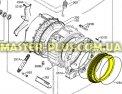 Резина (манжет) люка Electrolux Zanussi AEG 3790201507 Original для стиральной машины Фото №5