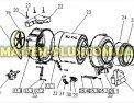 Шкив Electrolux 4055120234 для стиральной машины Фото №4