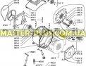 Активатор (ребро барабана) Whirlpool 480110100104 для стиральной машины Фото №4