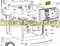 Модуль (плата) Whirlpool 481010416021 для стиральной машины Фото №7