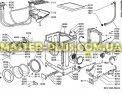 Модуль (плата) Whirlpool 481221458217 для стиральной машины Фото №1