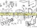 Модуль (плата) Ardo/Whirlpool 546089103 для стиральных машин Фото №1