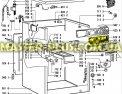 Модуль (плата)  управления Whirlpool  481223958002 для стиральной машины Фото №1