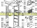 Петля средняя (левая) Холодильника Whirlpool 481241719436 для холодильникаФото №{num}