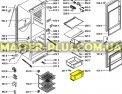 Ящик морозильной камеры (средний) Whirlpool 481241879839 для холодильникаФото №{num}