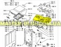 Внутренняя панель Whirlpool  481244010535 для стиральных машин Фото №1