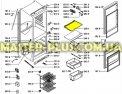 Полка холодильной камеры Whirlpool 481245088113 для холодильников Фото №1