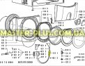 Ручка дверки (люка) Whirlpool 481249818366 для стиральной машиныФото №{num}