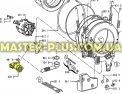 Сливной насос в сборе Whirlpool 481936018189 для стиральной машины Фото №1