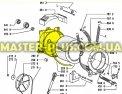 Задняя часть бака Whirlpool 481941818377 для стиральной машины Фото №1