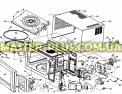 Куплер (грибочек) Electrolux 50283958002 для микроволновой печи Фото №1