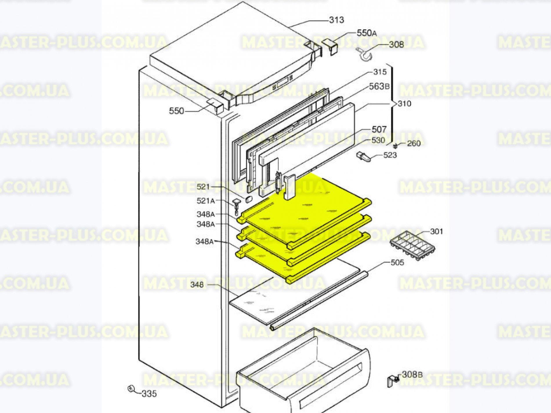 Устройство морозильной камеры схема
