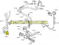 Впускной клапан 3/90 Bosch Siemens 084678 Original для стиральной машины