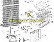 Мотор вентилятора обдува Electrolux 2260065160 для холодильника