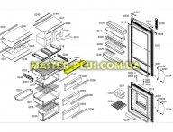 Верхняя крышка нулевой камеры Bosch 478953 для холодильника