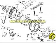 Резина (манжет) люка Bosch 00352600 для стиральной машины