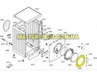 Обечайка люка Bosch 00366232 Original для стиральной машины