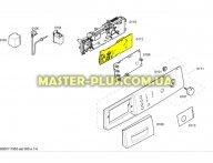 Модуль  (плата) BOSCH 00664116 для стиральной машины