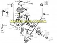 Распределитель воды в порошкозаборнике Bosch 032587  для стиральной машины