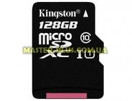 Карта памяти Kingston 128GB microSDXC Class 10 UHS-I (SDC10G2/128GB) для компьютера