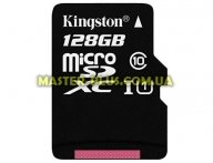 Карта памяти Kingston 128GB microSDXC Class 10 UHS-I (SDC10G2/128GB)
