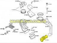 Патрубок от порошкоприемника к баку Bosch Siemens 088686 для стиральной машины