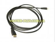Кабель мультимедийный HDMI A to HDMI D (micro), 2.0m PowerPlant (KD00AS1274)