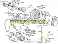 Амортизатор пружинный Bosch Siemens с шариком на штоке 107653 для стиральной машины