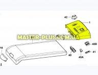 Лицевая пластмассовая панель Electrolux 1081729012 для стиральной машины