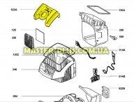 Крышка держатель мешка Electrolux 1097203028 для пылесоса