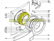 Резина (манжет) люка Electrolux 1108510304