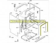Уплотнитель двери Electrolux 1171265232  для посудомоечной машины