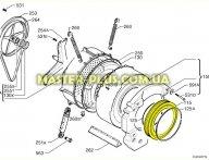 Резина манжет люка Electrolux 1240167427 для стиральной машины