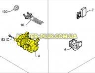 Мотор Electrolux Zanussi AEG 1240548162
