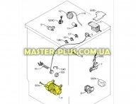 Мотор Electrolux 1247010091 для стиральной машины