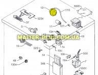Прессостат (датчик уровня воды) Electrolux 1247328907
