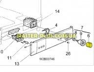 Ручка переключения программ Zanussi 1247823006  для стиральной машины