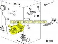 Мотор Electrolux 1248350041