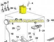 Программатор (селектор программ) zanussi 1249200005 для стиральной машины
