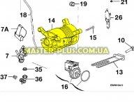 мотор Zanussi 1242707097 для стиральной машины