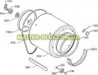 Уплотнитель плафона Electrolux 1258478005 для сушильной машины