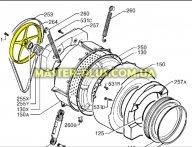 Шкив Electrolux Zanussi AEG 1260393002 для стиральной машины