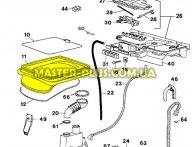 Резина (манжет) люка Zanussi 1461118000 для стиральной машины